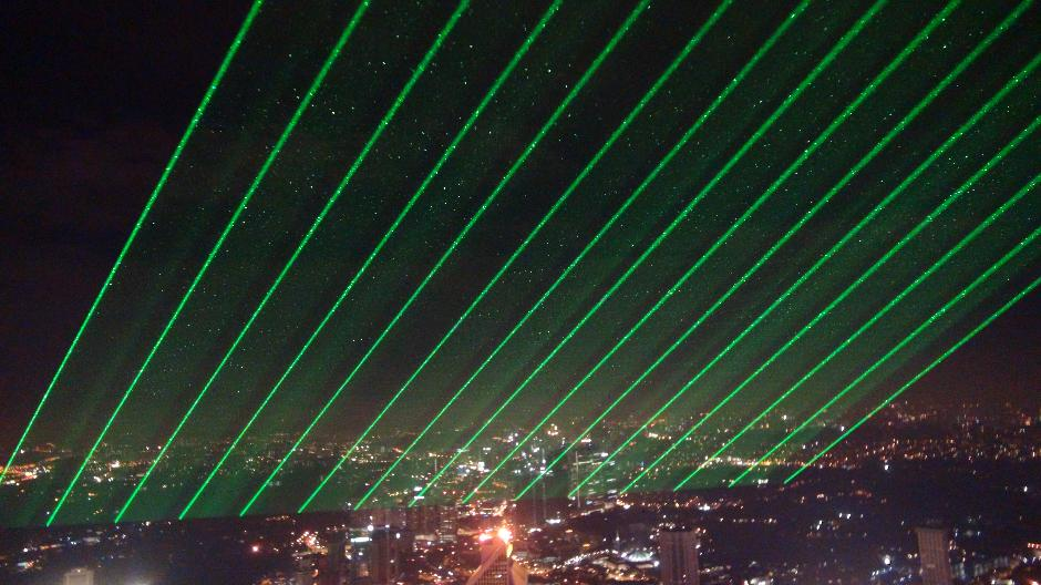 High Powered Outdoor Lasers