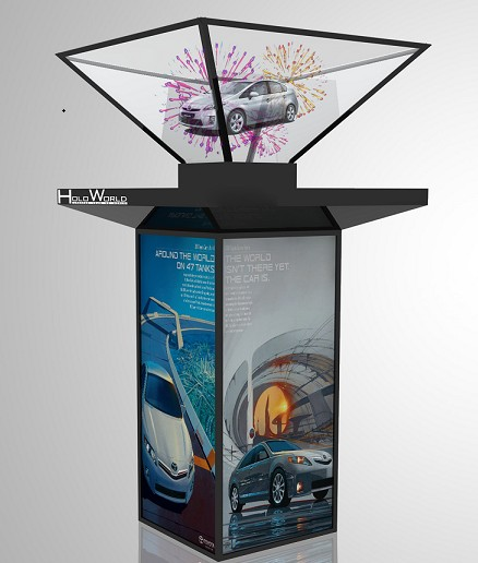 Holographic Display for malls & launches