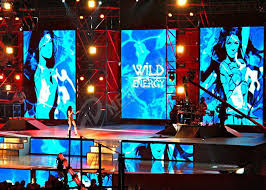 led screen backdrops